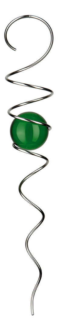 KUGELSPIRALE 100 gruen/emerald